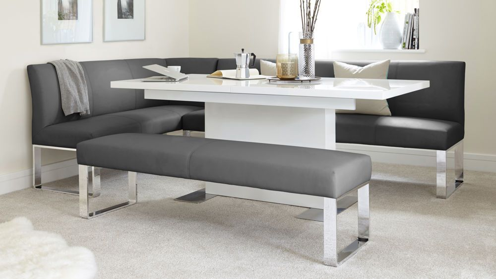 Loop 7 Seater Right Hand Corner Bench Corner Dining Table