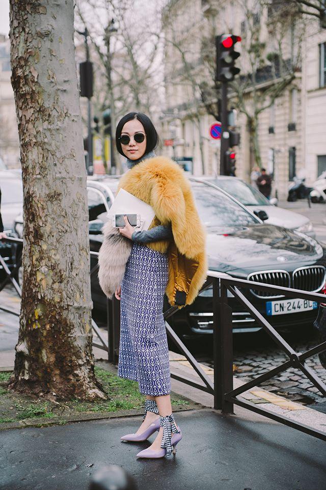 1f28e57b39fa Неделя моды в Париже, осень-зима 2016  street style. Часть 9 (фото 5 ...