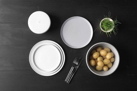 Gedeckelt Geschirrserie  - schöner wohnen küche