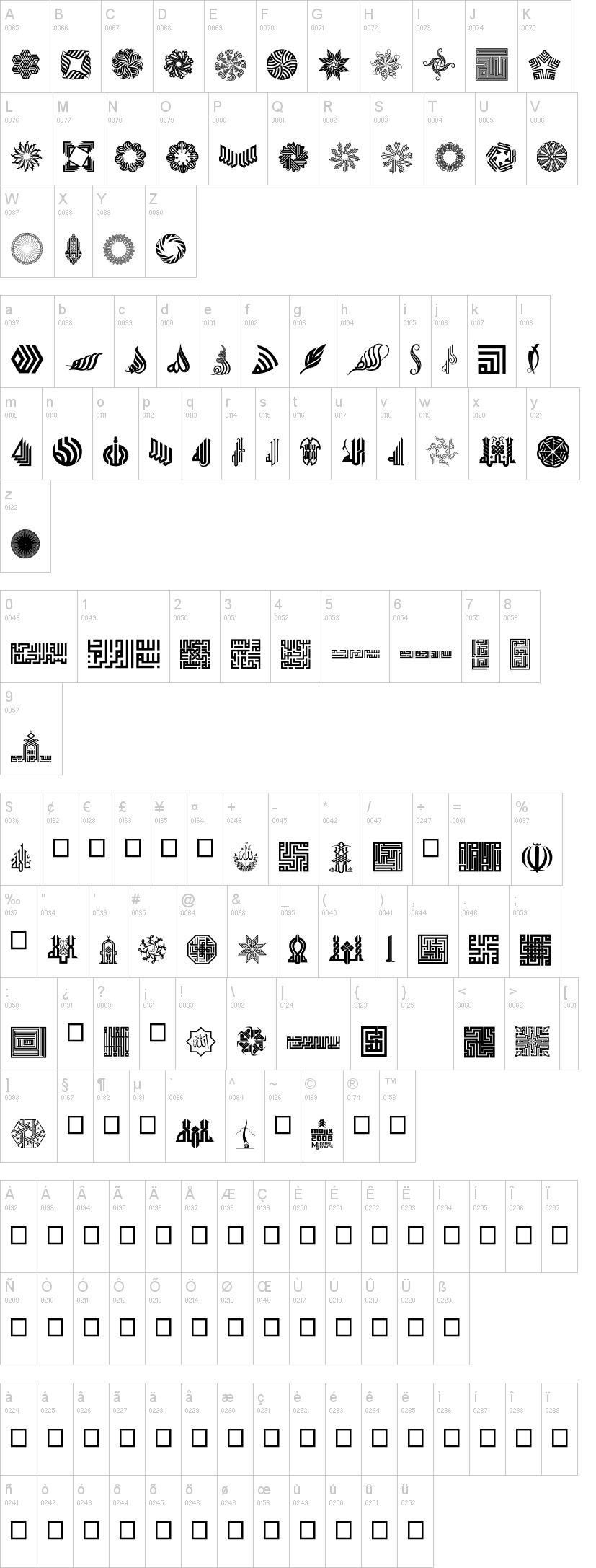 Besmellah 1 Font   dafont com   Paper, Hand Drawn, Patterns