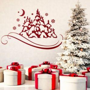 ▷ Kreative Ideen und Inspiration für Wandtattoo Weihnachten
