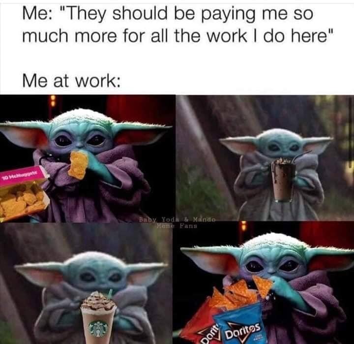 24 Memes For Anyone Working In Retail Yoda Funny Yoda Meme Funny Babies