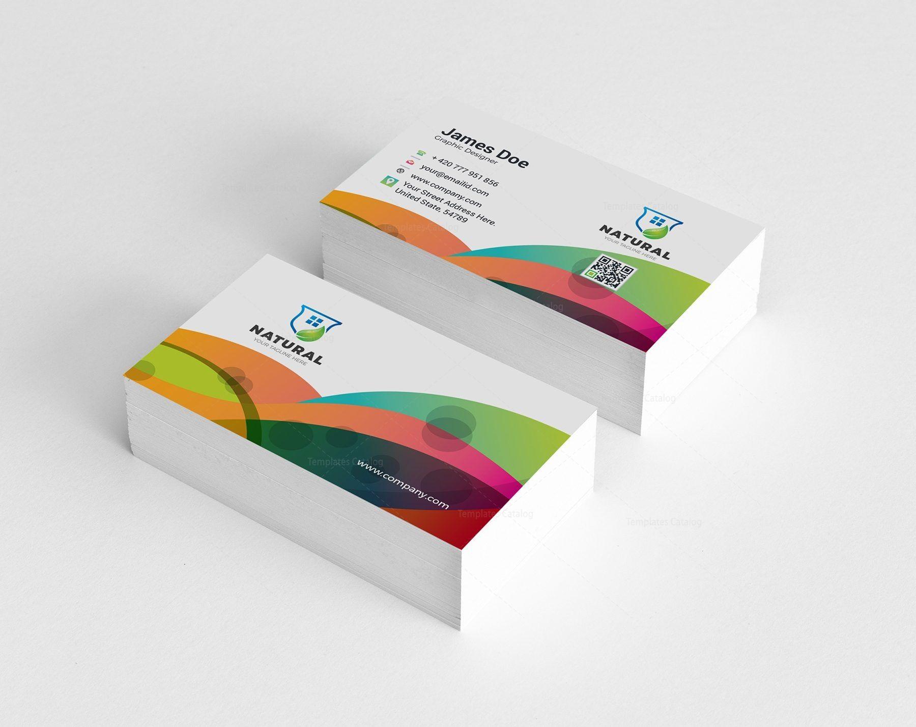 Colorful Creative Business Card Design 002130 Template Catalog Business Card Design Creative Business Cards Creative Business Card Design