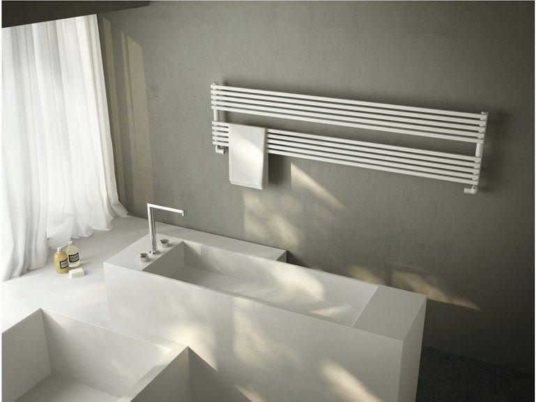 Scaldasalviette in acciaio al carbonio h 20 bdo linea bath by antrax