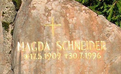 Magda Schneider 1996