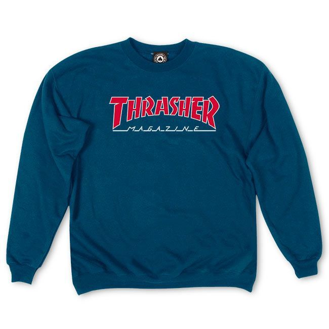 befe83b3dd3 Thrasher Magazine Shop - Outlined Crewneck
