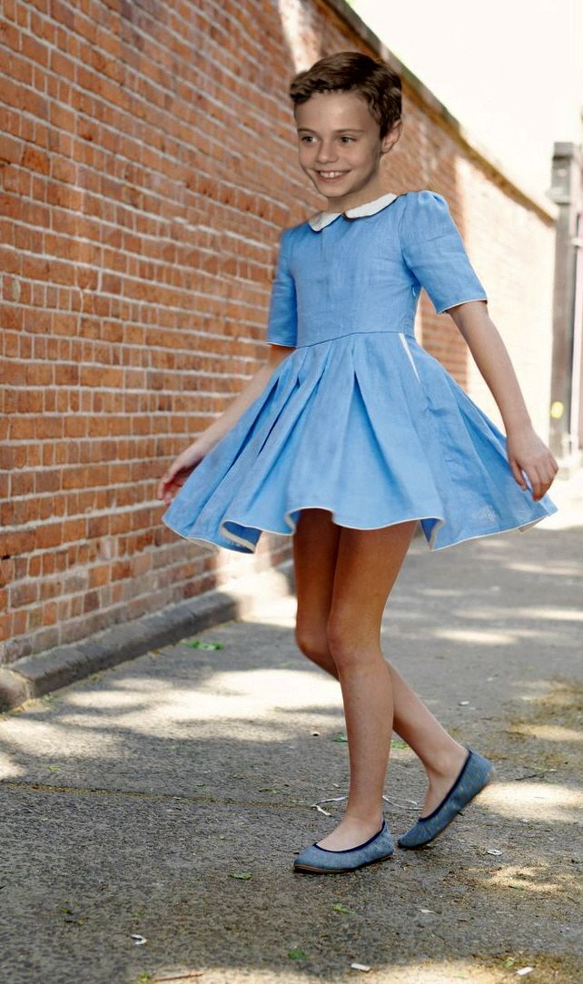 His Special Blue Dress  Boys In Girls Things  Boys -7844