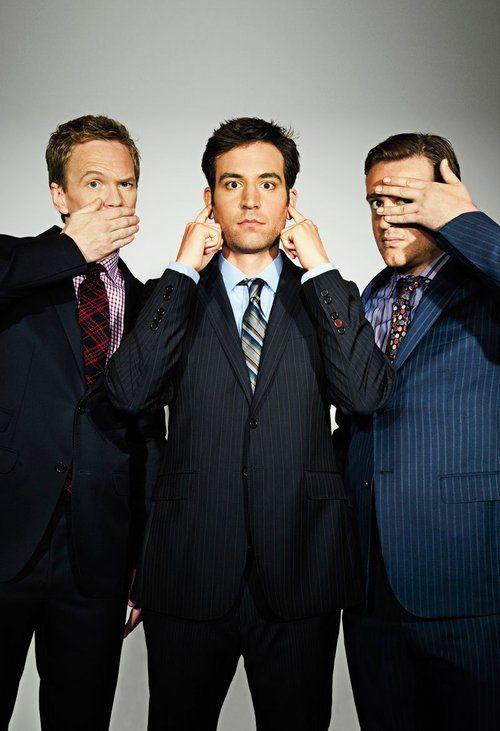 Barney, Ted & Marshall