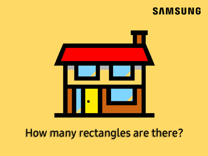 Can you count the number of rectangles correctly? Let us know in the comments!