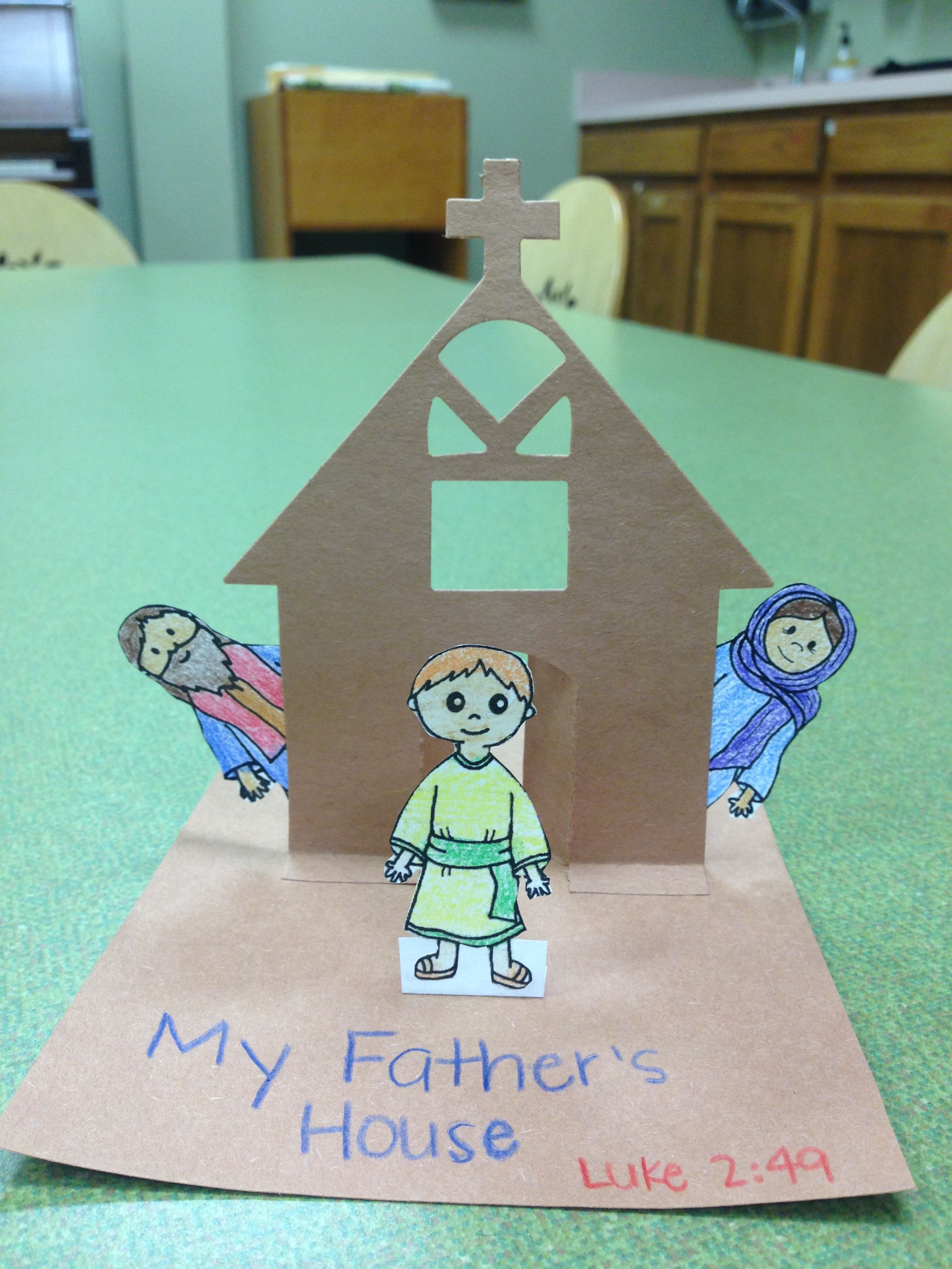 E280: Jesus at the Temple | E280\'s Crafts | Pinterest | Temple ...
