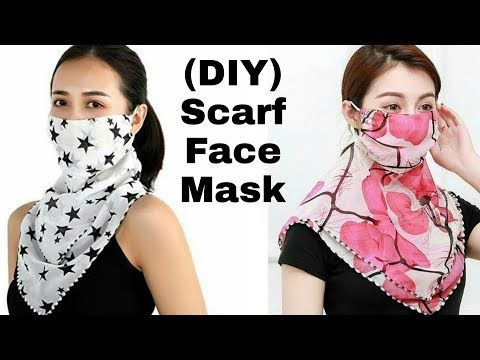 Photo of How to Stitch Fabric Scarf Face Mask / DIY Fabric Face Mask at Home