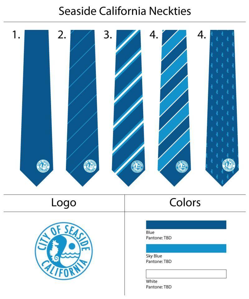 seaside california custom necktie design template our custom ties