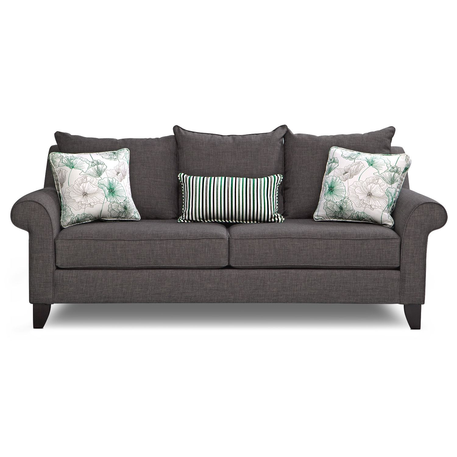 Living Room Furniture Jasmine Queen Sleeper Sofa
