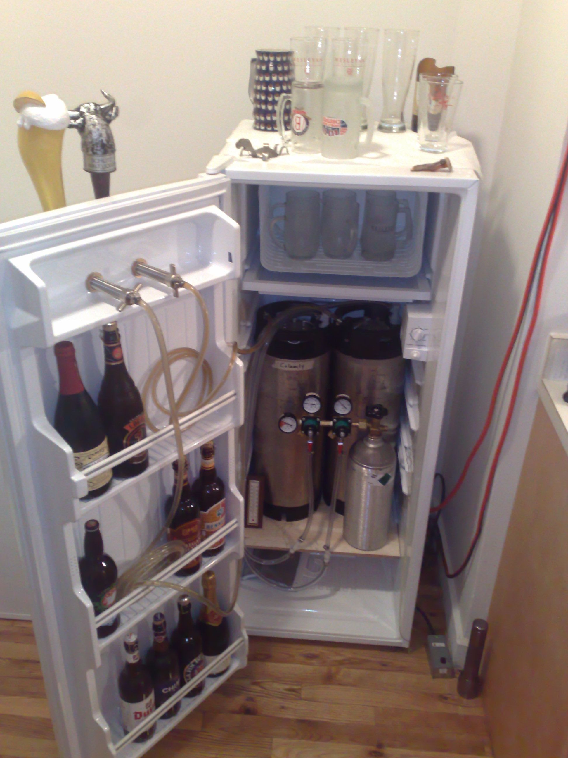 Build Your Own Kegerator Home Brew Home Brewery Beer