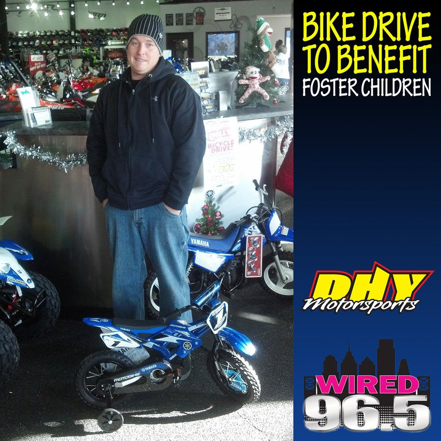 Timmy Kalnas dropped off this child sized YZ450F for the ...