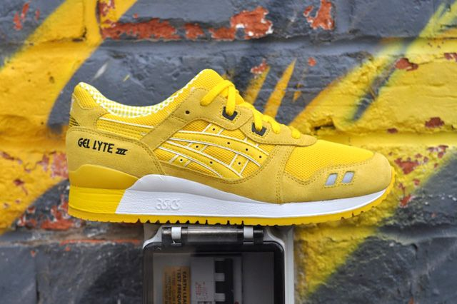 asics gel lyte iii yellow