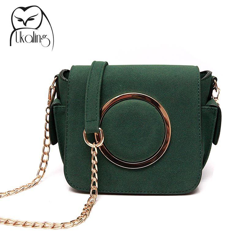 3b2e191203f0 UKQLING Brand Small Women Messenger Bags Designer Cross Body Shoulder Bag  with Belt Strap Sac a Main Lady Clutch Purses Phone