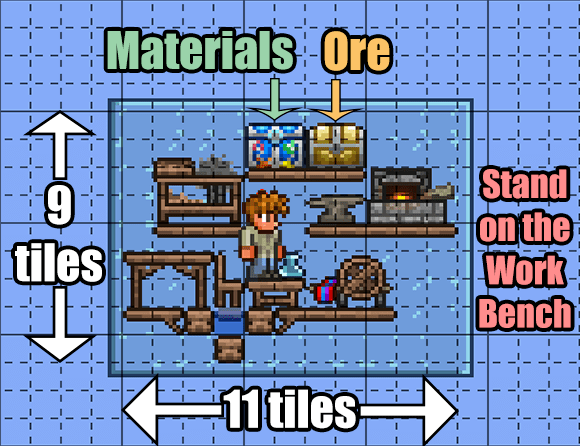 File Terraria 1 3 2 1 Efficient Crafting Area Png Terrarium Terraria House Ideas Terraria House Design