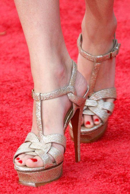 Bride S Shoes 1 Ysl Tribute Metallic Gold