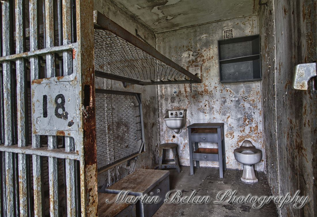 Mansfield Reformatory Cell 18 Abandoned Homes Buildings