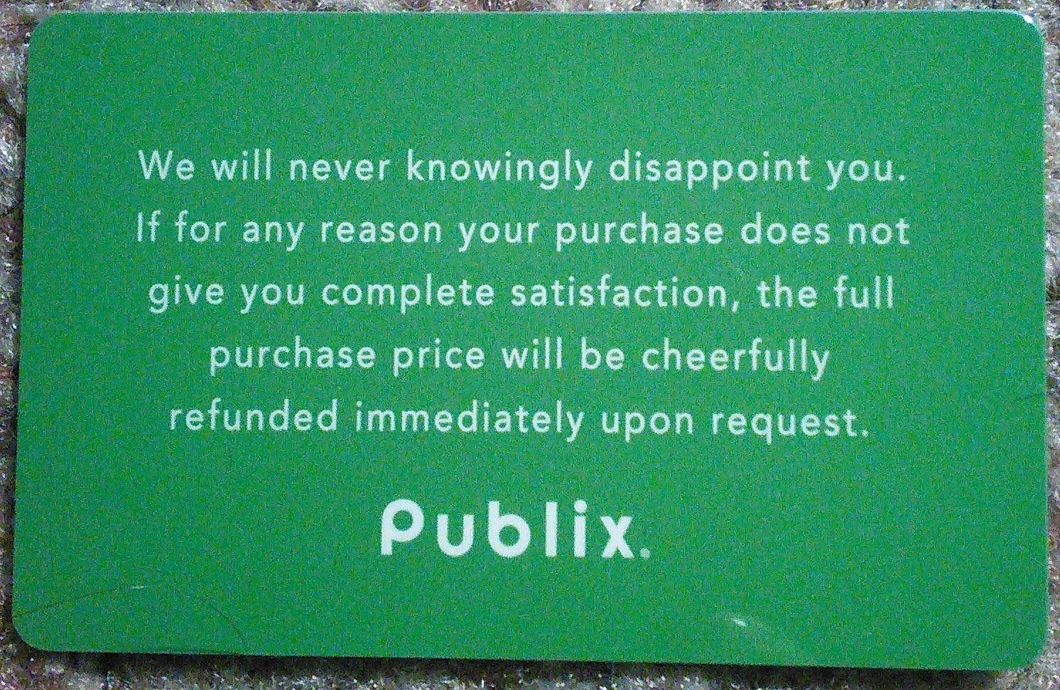 publix gift card balance