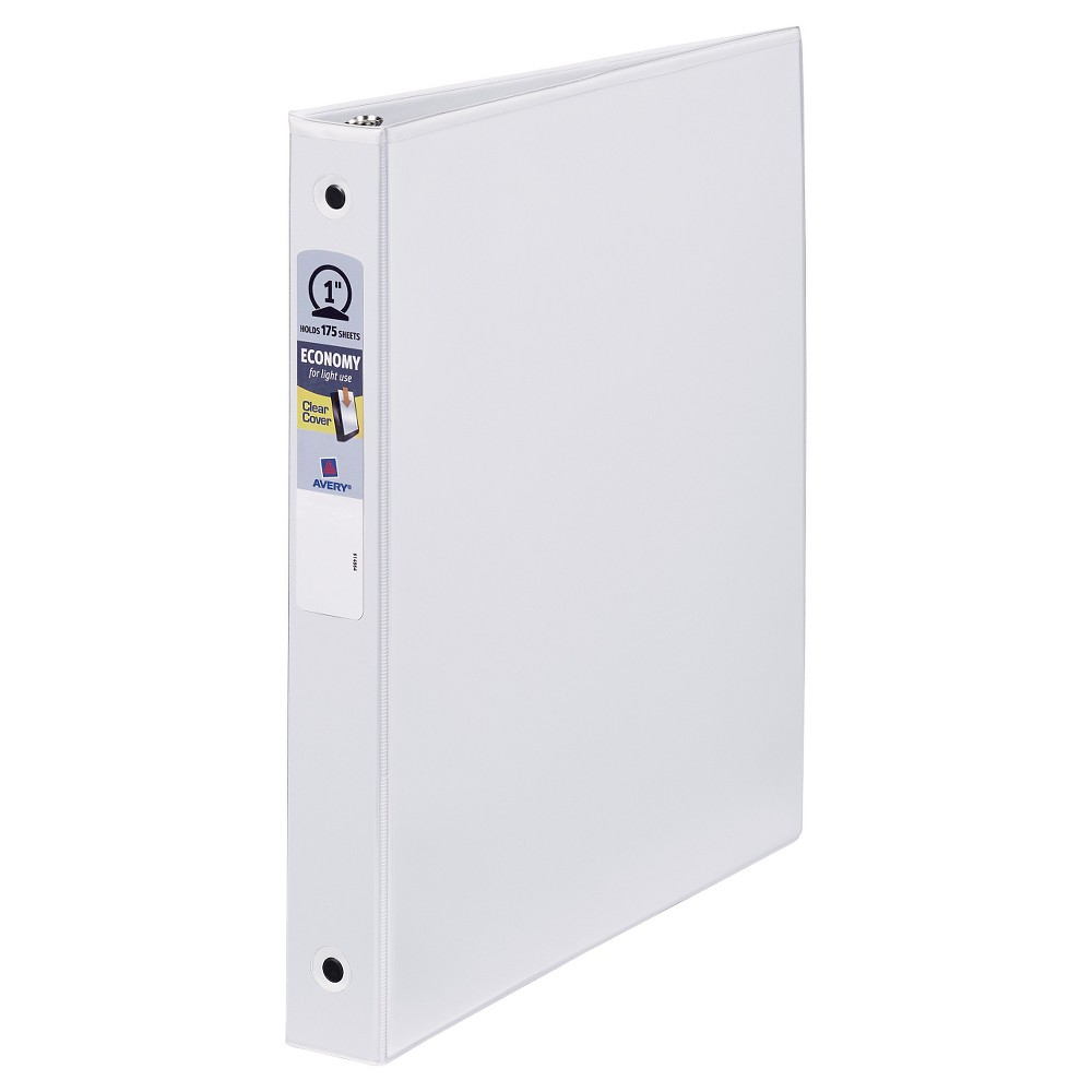 All Of Your Papers Will Be Protected And All In One Place With This 3 Ring Binder From Avery This One Inch Three Ring Binde Photo Binder Locker Storage Binder