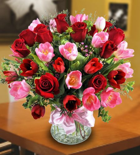 What girl doesn't want flowers?