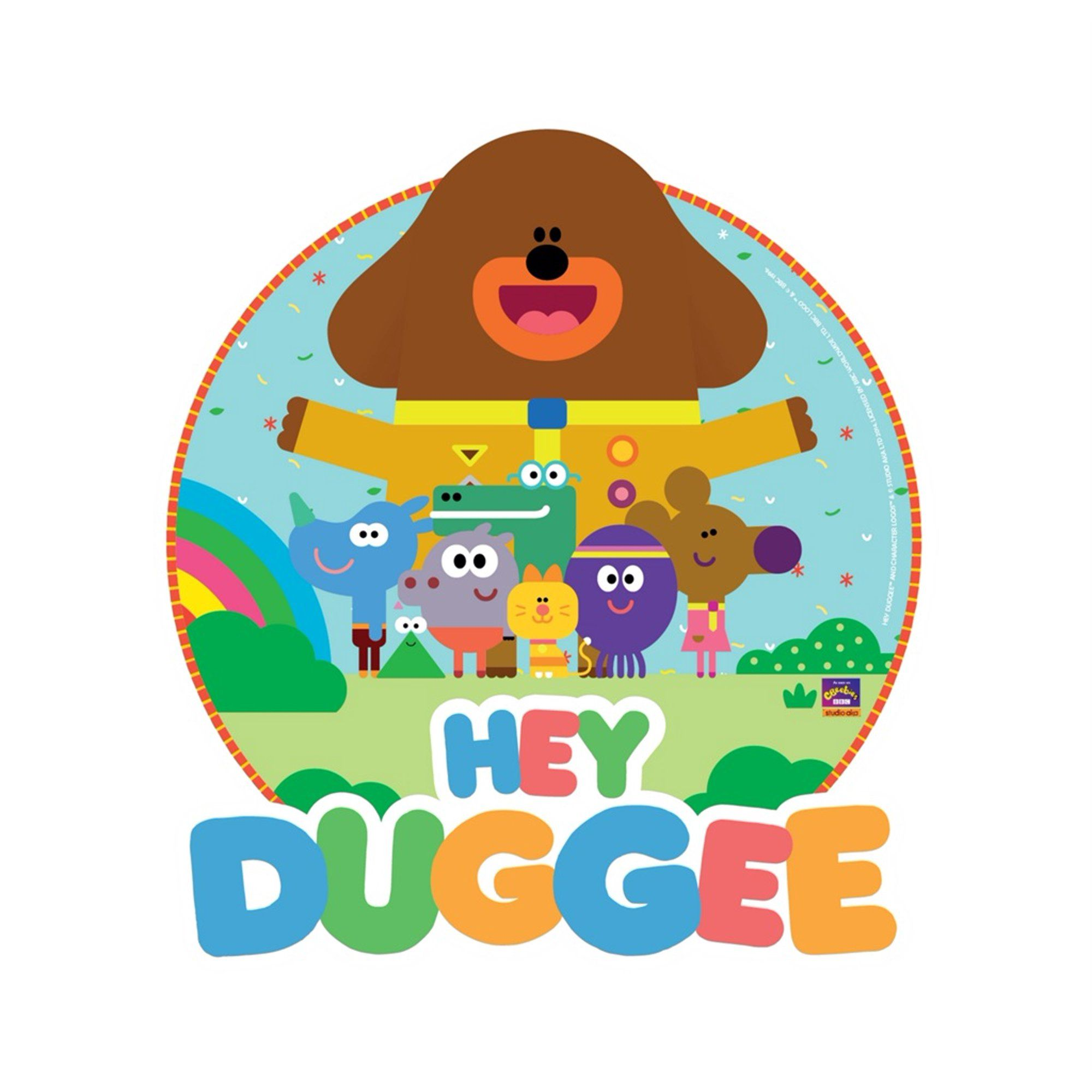 Hey duggee edible birthday cake topper 8 round frosting