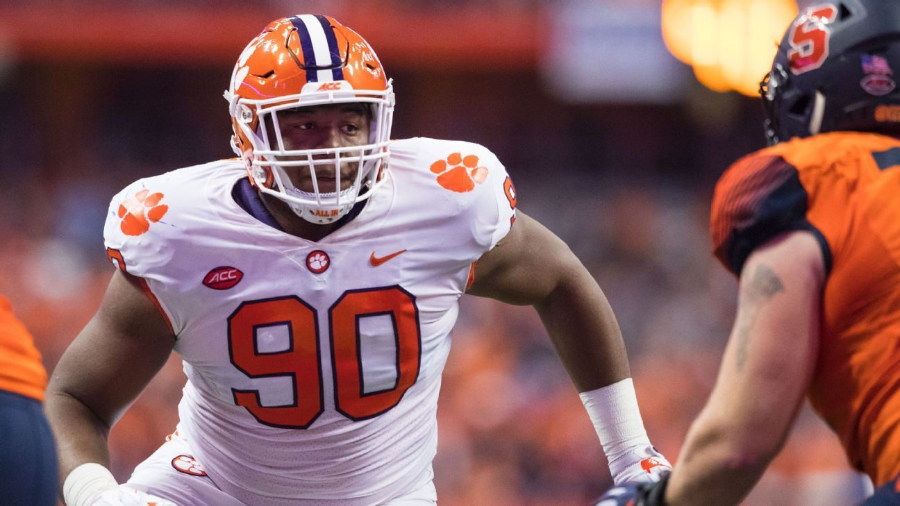 Clemson Star Dt Two Others Fail Drug Tests With Images Nfl Draft Drug Tests College Football Playoff