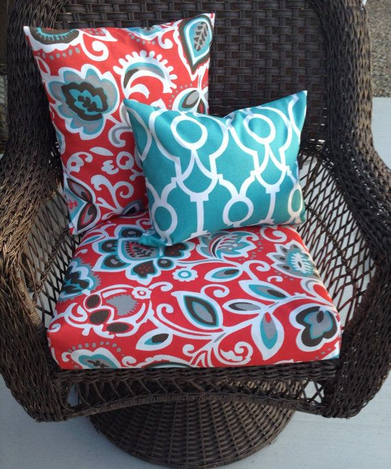 Coastal Colors Outdoor Patio Furniture Cushion Covers Outdoor Pillow Covers Replac Outdoor Furniture Cushions Patio Cushions Outdoor Patio Furniture Cushions
