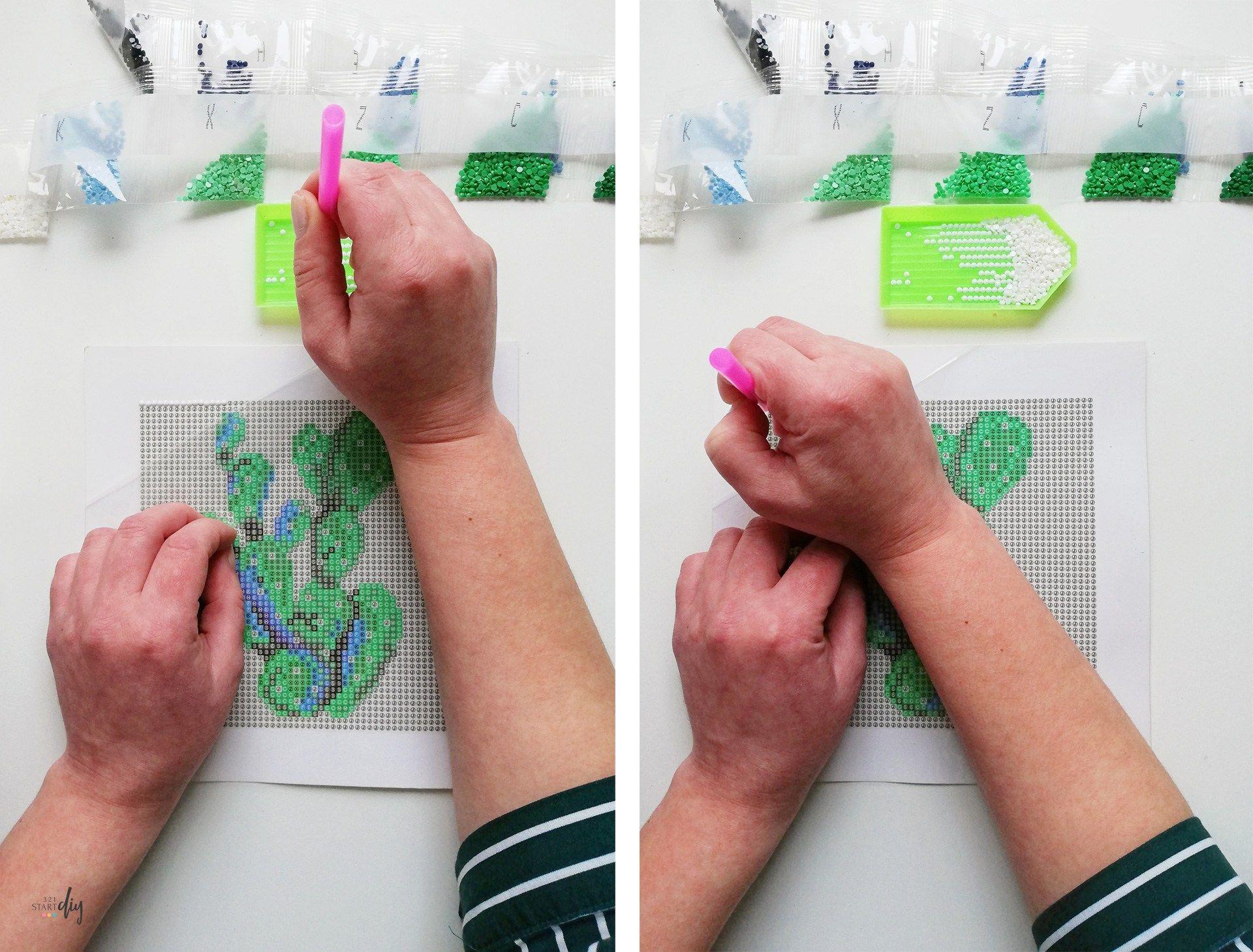 Diamond Painting Tutorial Painting Tutorial Diamond Painting Crafts