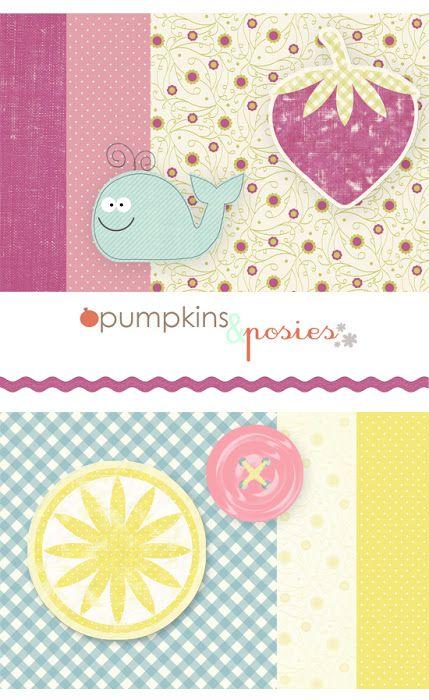 Recursos - Scrap Digital con Pumpkins & Posies - Fácil y Sencillo ...