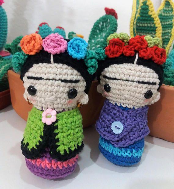 PEQUEÑA FRIDA Patrón Amigurumi en PDF | Crochet | Pinterest ...