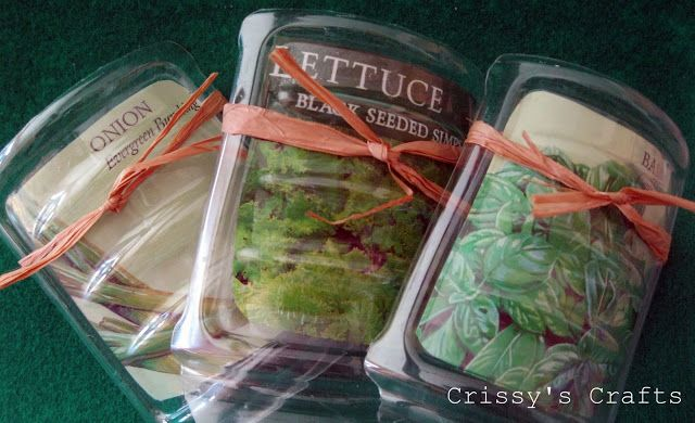 Crissy's Crafts: Upcycle Project - Garden stakes made out of plastic bottles