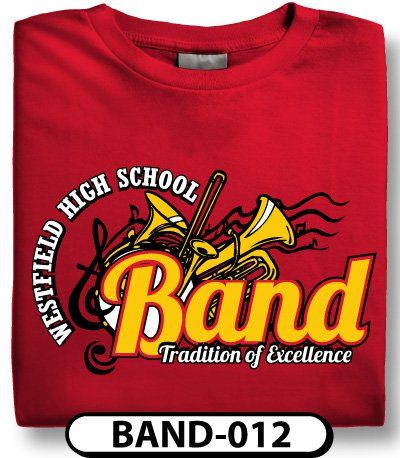 Shirt Design Template Middle School Band