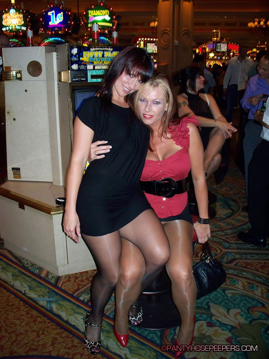Hanging out in pantyhose! | Close friends