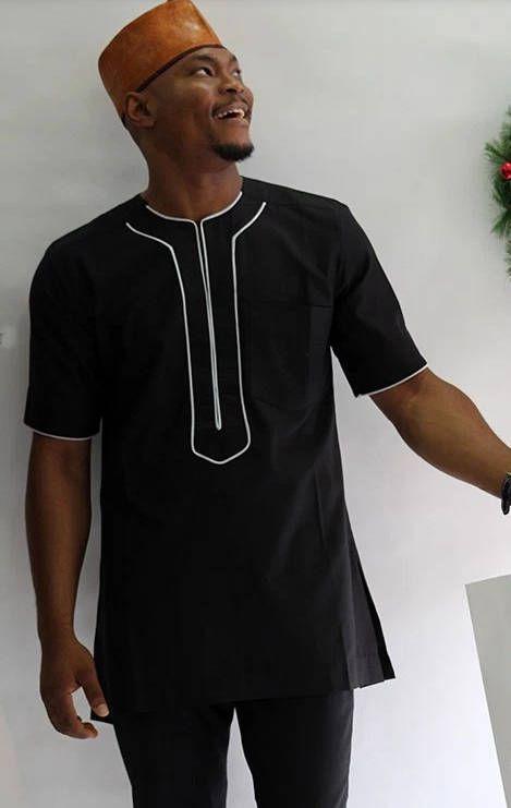 994d93b04ae16 Vêtements africains pour hommes-traditionnel africain | African men ...