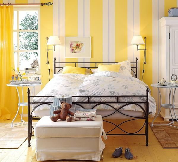 6 yellow bedroom | Bedrooms | Pinterest | Yellow bedroom decorations ...