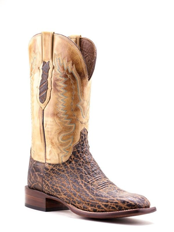 db75c0f4f0c Mens Lucchese Peat Elephant Boots Cy1402.W8S - Texas Boot Company is ...