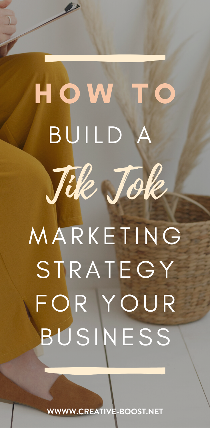 How To Build A Tik Tok Marketing Strategy For Your Business Marketing Social Marketing Marketing Strategy