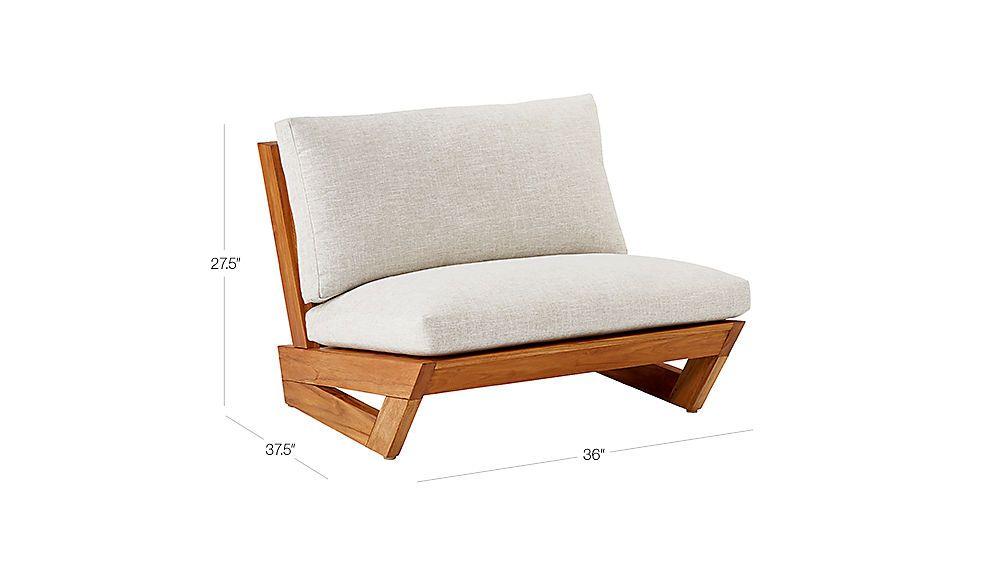 Sunset Teak Lounge Chair Reviews Mobiliario Retro Moveis