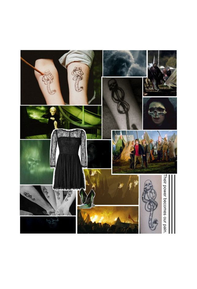 """""""32. The Dark Mark"""" by sallimander ❤ liked on Polyvore featuring mark., Forum, Juicy Couture and Casadei"""