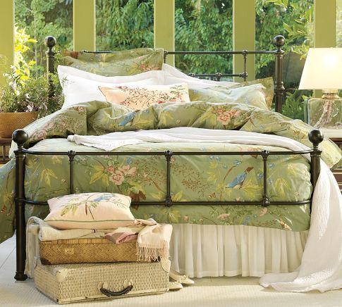 Mendocino Bed Pottery Barn King 1300 Bedroom Design