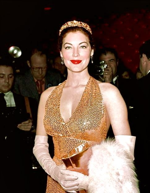 "Ava Gardner, 1954. Hollywood Premiere Of ""THE BAREFOOT CONTESSA."