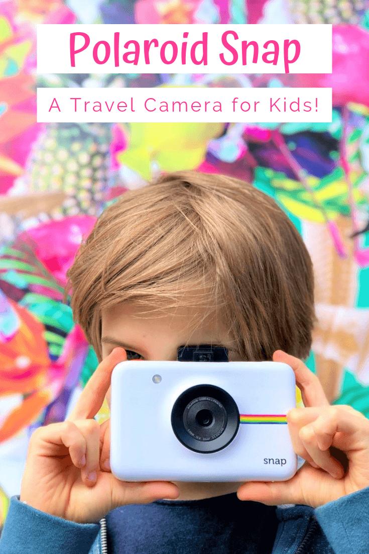 Polaroid Snap A Kid Friendly Travel Camera In 2020 Polaroid Snap Travel Camera Family Travel
