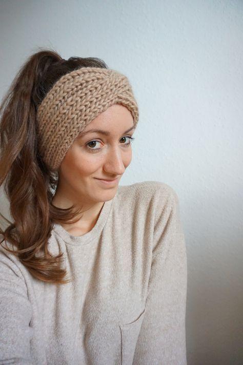 Kostenlose Anleitung Stirnband stricken