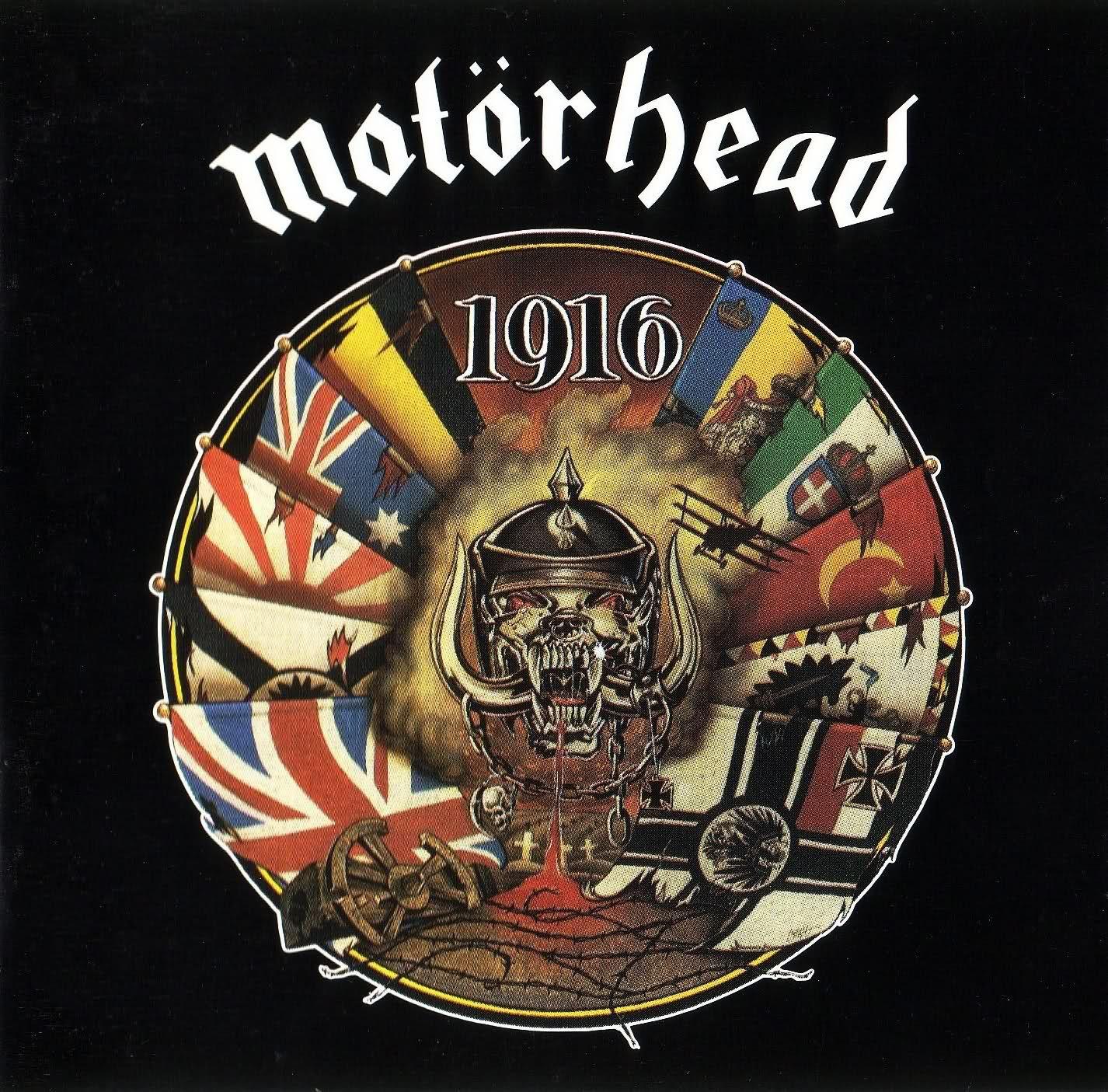 motorhead 1916 *** tier albums pinterest hard rock and