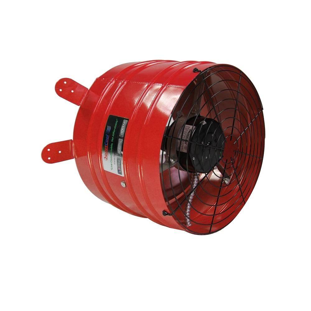 Quietcool Professional 3013 Cfm Power Gable Mount Attic Fan Afg
