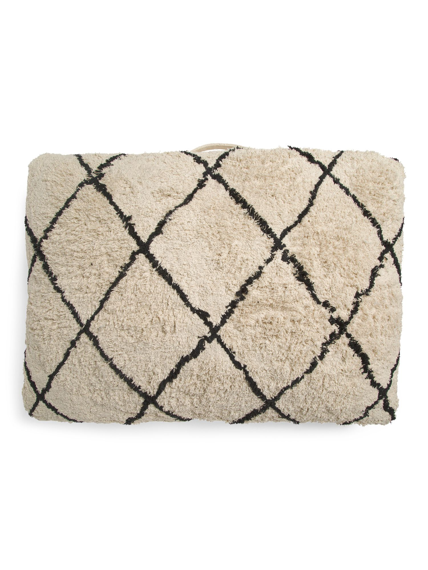 Made In India Tufted Diamond Pet Bed Dog storage