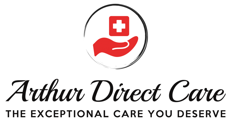 Logo For Arthur Direct Care A Direct Primary Care Clinic In Round Rock Tx With Images Primary Care Clinic